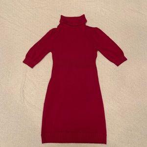 Forever 21 magenta sweater dress